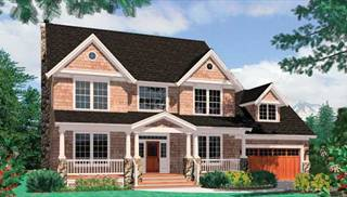Colonial Home Designs by DFD House Plans