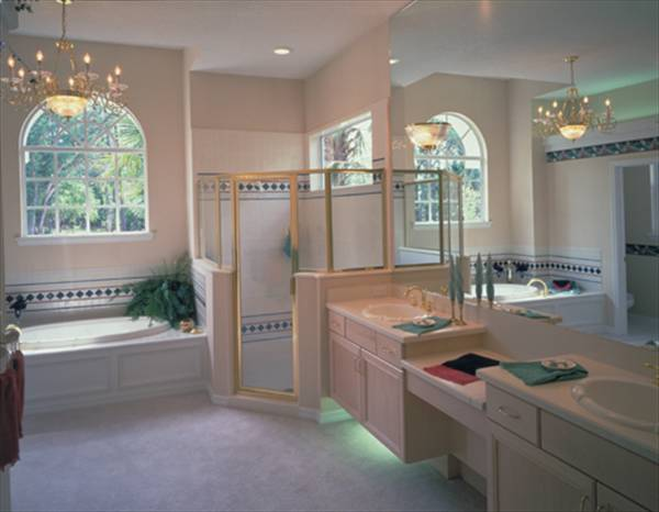 Master Bath by DFD House Plans