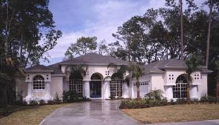 Mediterranean Style Home Designs by DFD House Plans