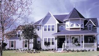 Large Victorian Home Plans by DFD House Plans