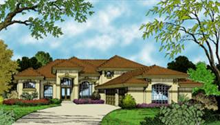 Mediterranean Home Floor Plans by DFD House Plans