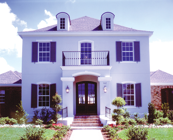 Colonial House Plan with 5 Bedrooms and 45 Baths Plan 4149